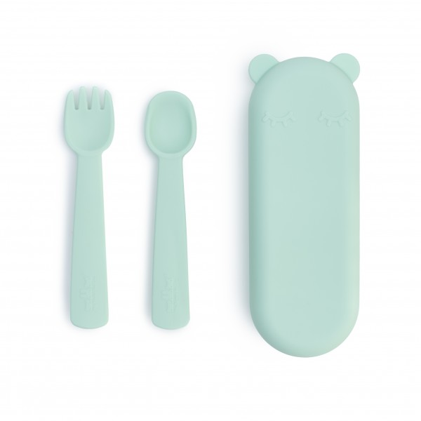 "We Might Be Tiny - Besteck-Set ""Feedie Fork & Spoon"" mint"