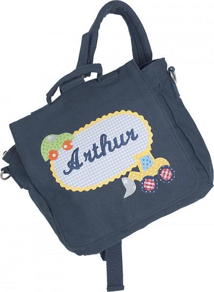 Kindergartentasche mit Bagger