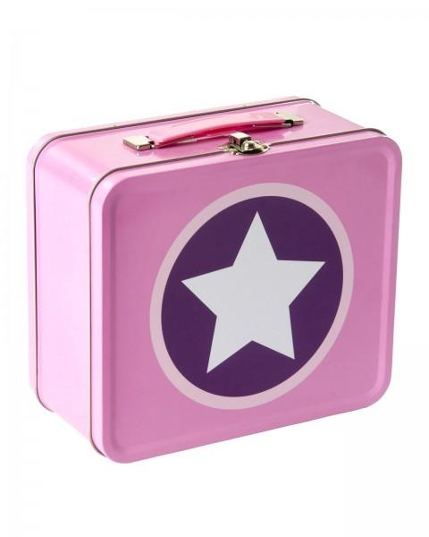 Köfferchen Stern Pink