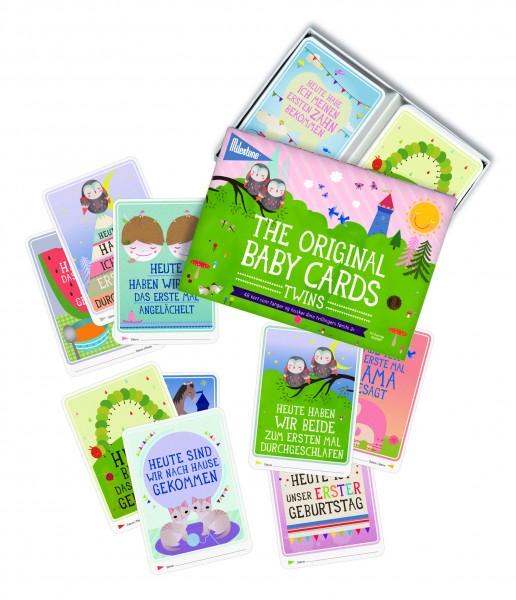 Baby Cards für Zwillinge