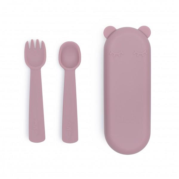 "We Might Be Tiny - Besteck-Set ""Feedie Fork & Spoon"" dusty rose"