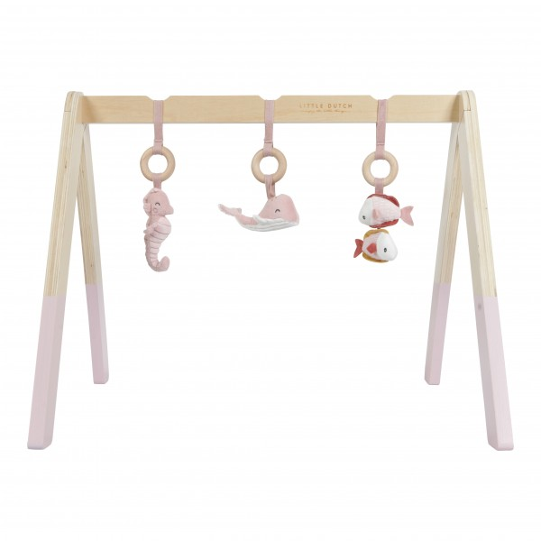 Little Dutch - Spieltrapez / Babygym - Ocean Pink