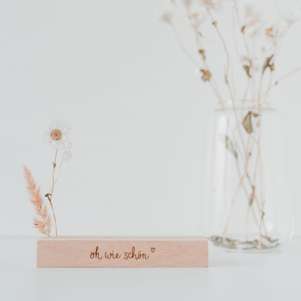 Eulenschnitt - Karten - und Trockenblumenständer im 2er Set