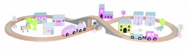 """JaBaDaBaDo - Auto-Spiel-Set """"pink"""""""