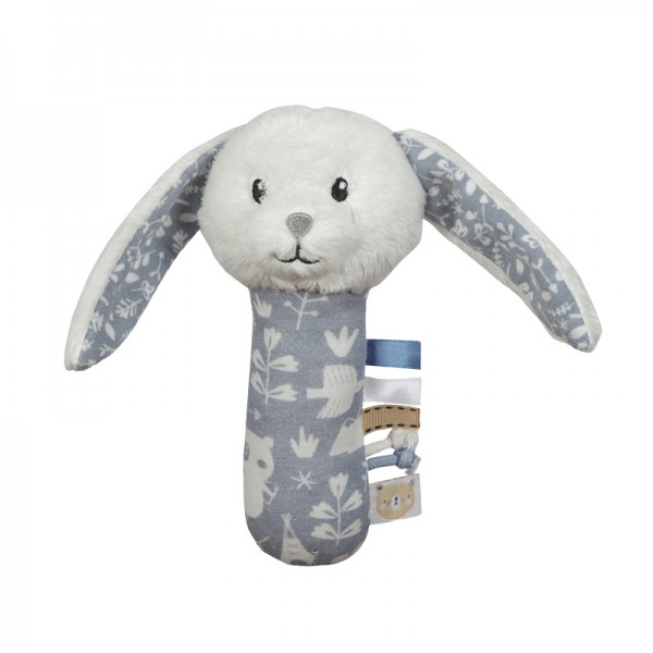 "Little Dutch - Greifling mit Rassel Hase ""Adventure Blue"""