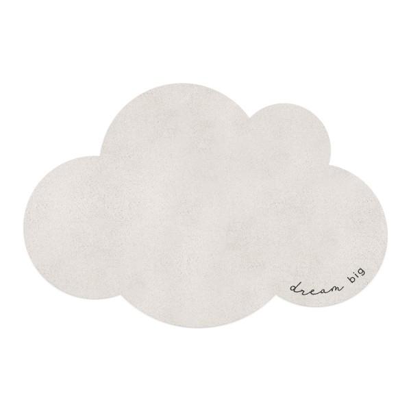 "Eulenschnitt - Waschbarer Kinderteppich ""Wolke"""