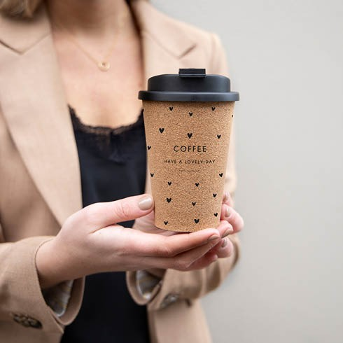 """Bastion Collections - Coffee to go Becher """"Have a lovely day"""""""