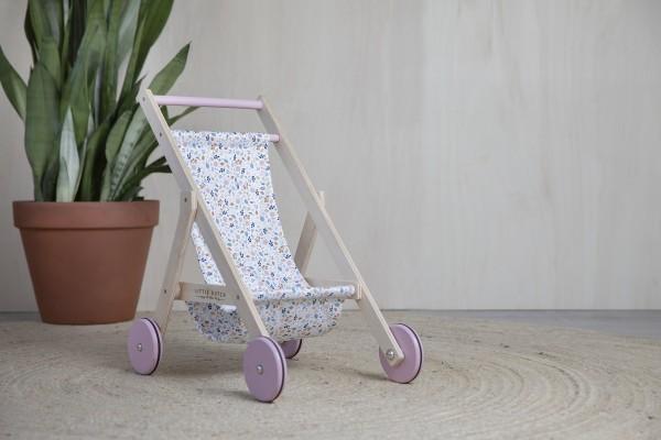 "Little Dutch - Puppenbuggy aus Holz ""Spring Flowers"""
