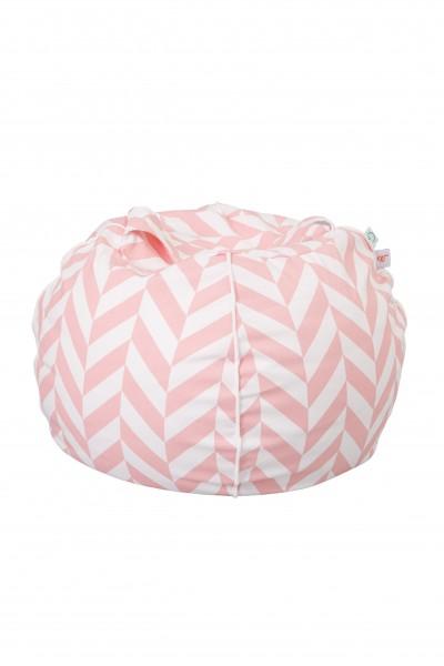 "WigiWama - Sitzball ""Bubble"" - Tropical Collection - Pink"