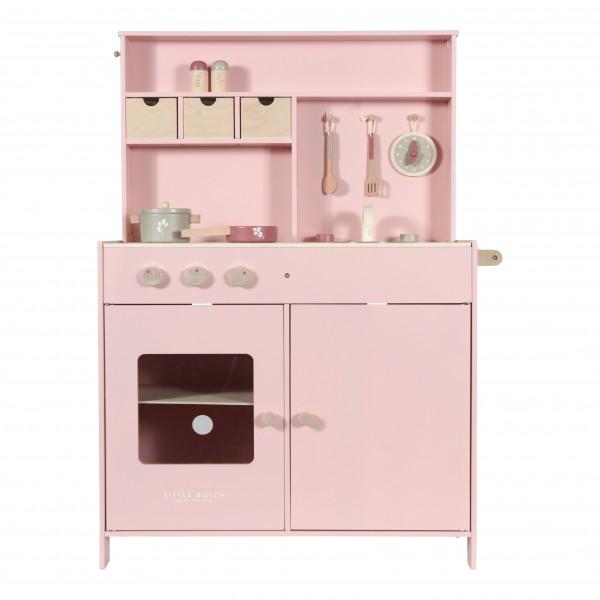 """Little Dutch - Kinderküche Holz """"rosa"""""""