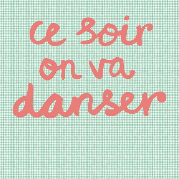 Tapeten Bild Dance Mint 280 cm x 279 cm