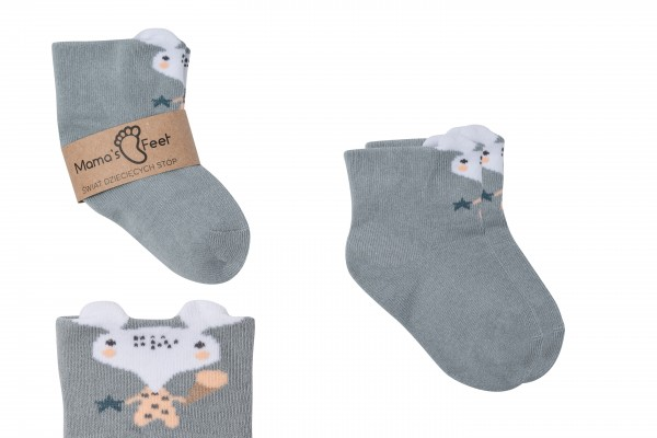 Mama's Feet - Tiermotiv Socken Fred