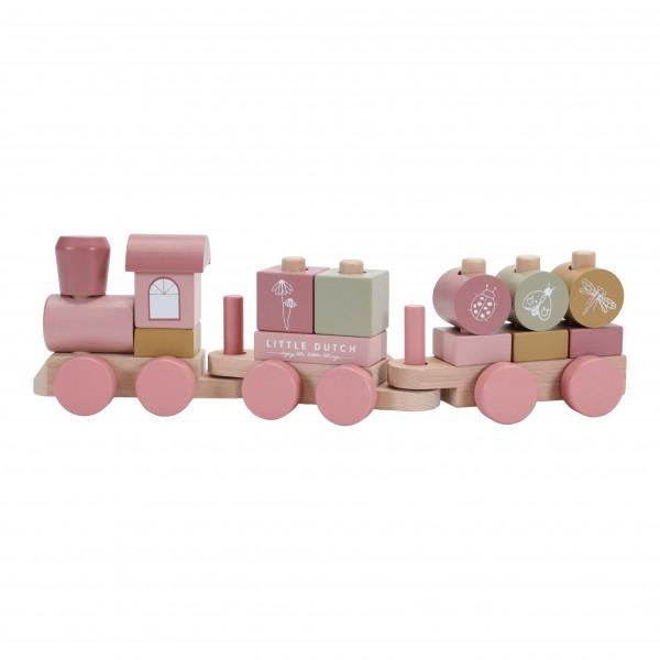 """Little Dutch - Holzzug """"Pink"""""""