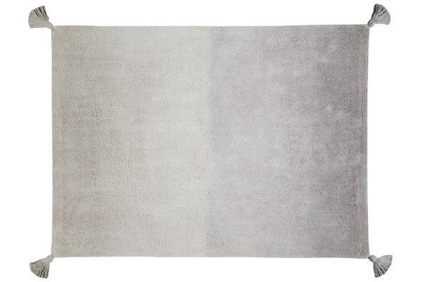 "Lorena Canals - Kinderzimmerteppich ""Ombré Grey-Grey"""