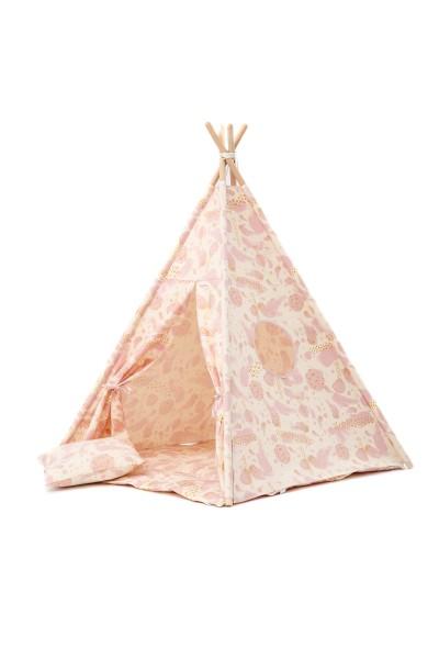 WigiWama - Tipi Set - Glitter Collection - Rosé