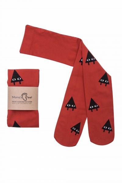 "Mama's Feet - Kinderfeinstrumpfhose ""Printy"" - triangles"