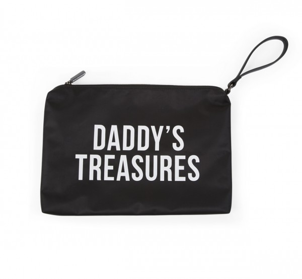 "Childhome - Clutch ""Daddy's Treasures"" - schwarz/weiß"