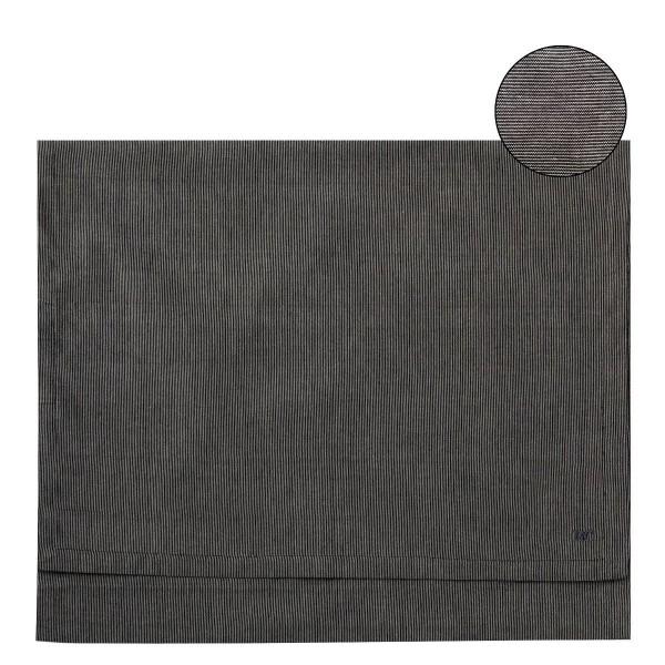 """Bastion Collections - Tischläufer """"schwarz"""" - 50 x 160 cm"""