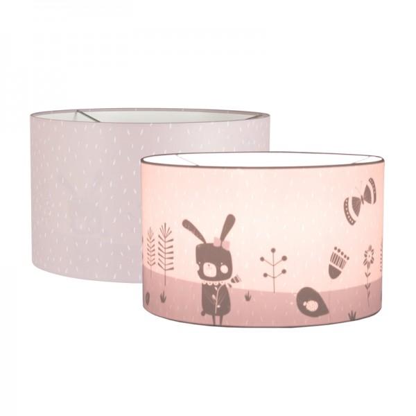 """Little Dutch - Hängelampe Silhouette rund """"Pink Sprinkles"""""""