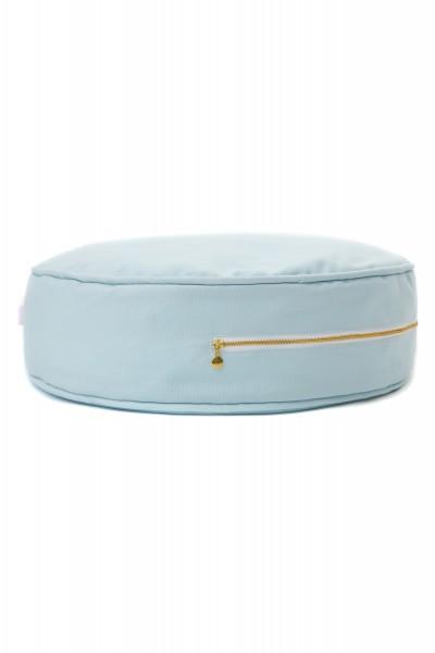 WigiWama - Sitzkissen rund Plain Collection - Blau