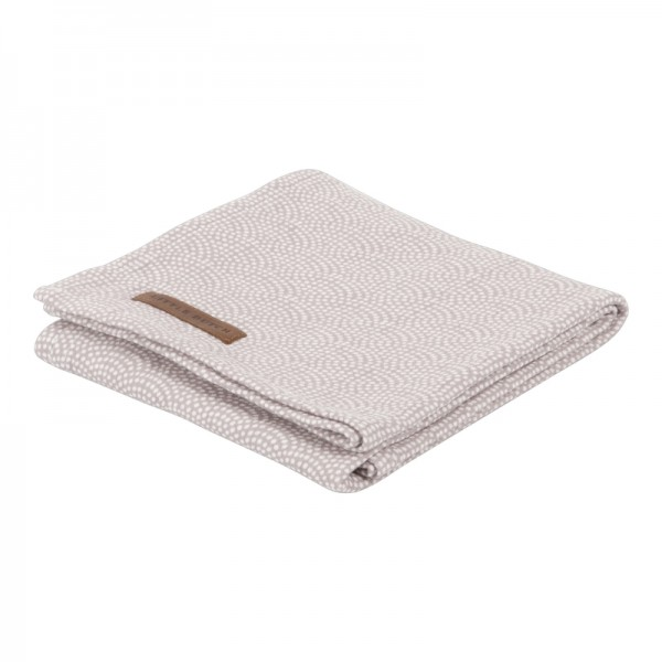 "Little Dutch - Swaddle Tuch ""Mauve Waves"" 120 x 120 cm"