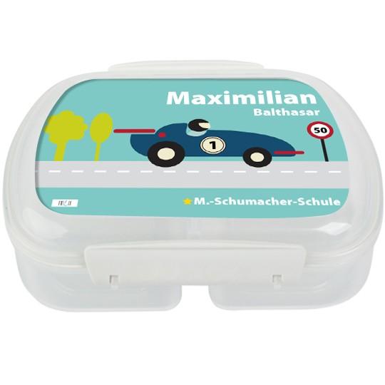 Brotdose Formel 1 Rennauto