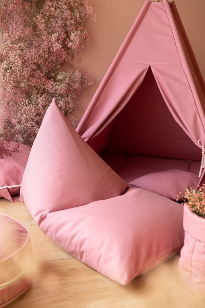 WigiWama - Sitzsack - Plain Collection - Blush Pink