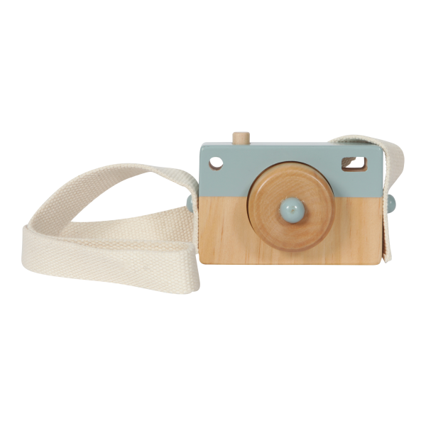 Little Dutch - Holz-Kamera Adventure Blue