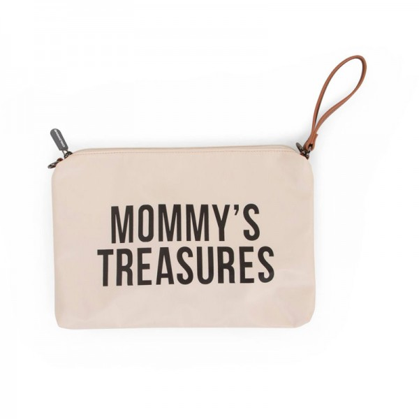 "Childhome - Clutch ""Mommy's Treasures"" - altweiss/schwarz"