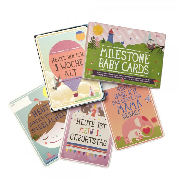 Meilenstein Babycards