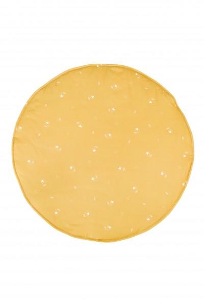 WigiWama - Spielmatte rund - Wonder Forest Collection - Honey Mustard